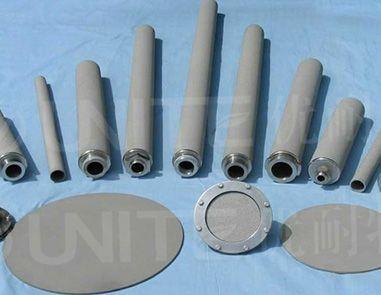 微米级金属钛滤芯