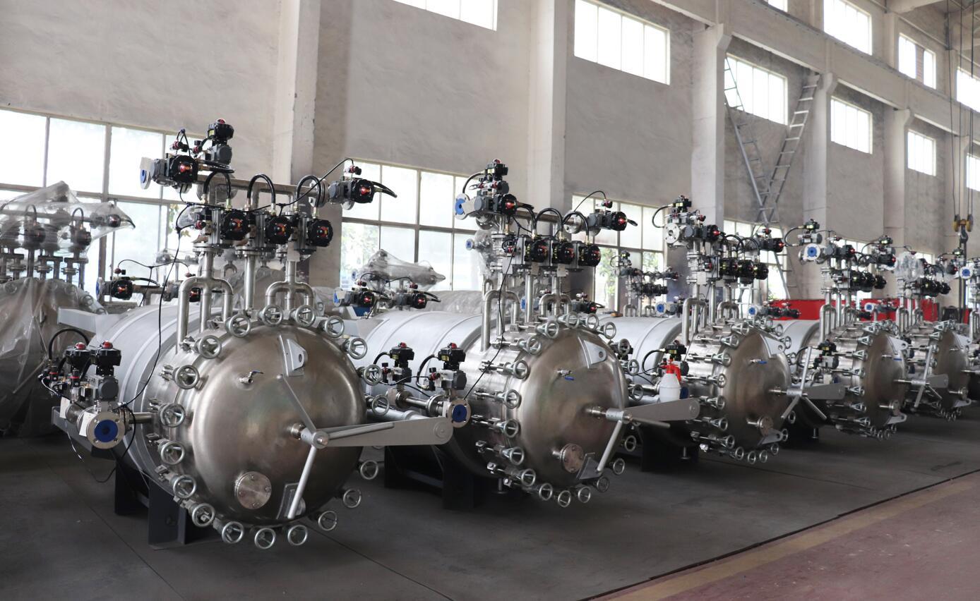 优耐特二十余套全自动烛式过滤系统顺利完工